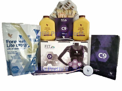 Weight Lose Forever Living Clean 9 Pack C9 Cleanse 9 Day Detox Vanilla / Chocola