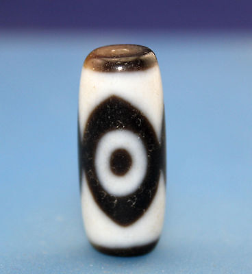 31*13 mm Antique  Dzi  Agate  old  3  eyes  Bead  from Tibet ***Free shipping***