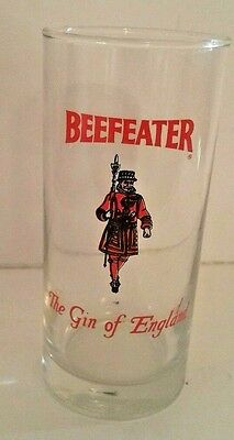 Beefeater The Gin Of England Vintage Glass Cup Gin Tonic Alcohol London