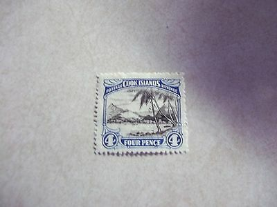 COOK ISLANDS STAMP SG 103a Scott 88 Perf 14  Fine Used UNWATERMARKED - NZ