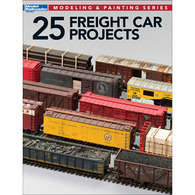 25 Freight Car Projects – Model Railroader Books