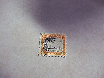 COOK ISLANDS STAMP SG 104 Scott 89a Perf 13 UNWATERMARKED Fine Used - NZ
