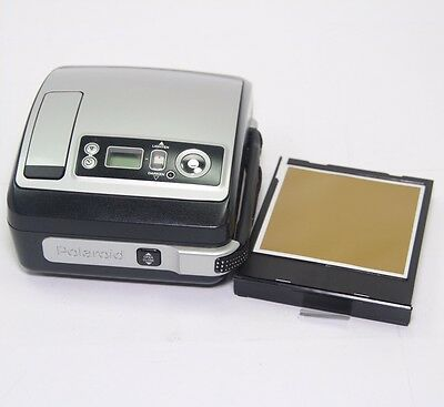 Vintage Polaroid One 600 Classic Instant Camera- Silver- Loaded w/ Film - TESTED