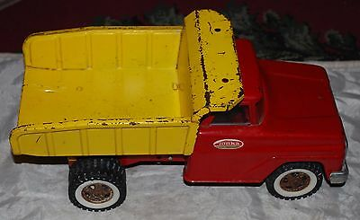 Vintage Tonka Hydraulic Dump Truck Pressed Steel Toy 1950s / 1960s As Is Shown
