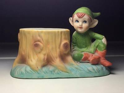 Vintage Klassen Gift Ware elf ceramic toothpick holder