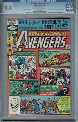 Cgc 9.4 Avengers Annual #10 1St Appearance Of Rogue & Madelyn Pryor