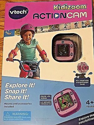 VTECH Kidizoom ACTIONCAM Camera Color LCD PINK/PURPLE NIB