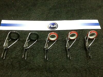 Fuji Fishing Rod Tips Series CT & HT Size 20/5.5 Pack Of 5