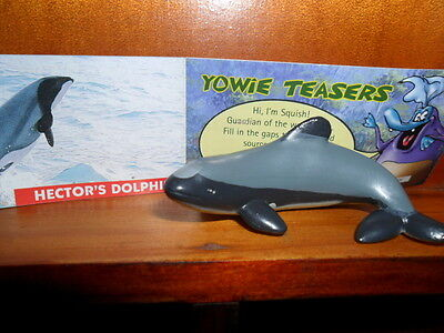 Yowies Series 2 UK YOWIES, * HECTOR'S DOLPHIN + PAPERS