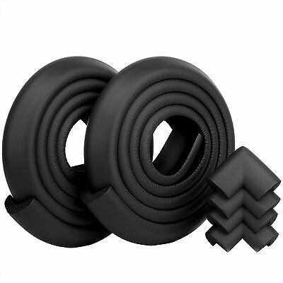 Excgood Table Edge Guard & Corner Bumpers for Baby Proofing, Premium Soft Rubber