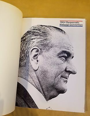 1964 Democratic National Convention Official Guidebook with Events Program + Ads