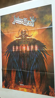 JUDAS PRIEST + ARCH ENEMY (POSTER A DOBLE CARA) METAL HAMMER (60X82cm)