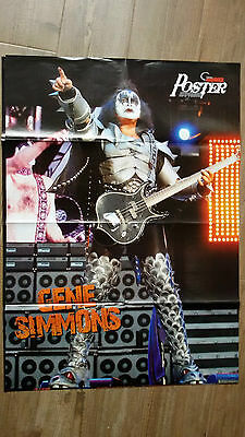 KISS - GENE SIMMONS 2  (POSTER A DOBLE CARA) METAL HAMMER (60X82cm)