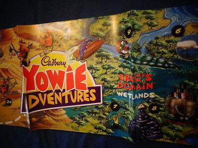 Yowie Yowies, * POSTER * CADBURY YOWIES SERIES 6 PLAYMATES * FULL SIZE POSTER