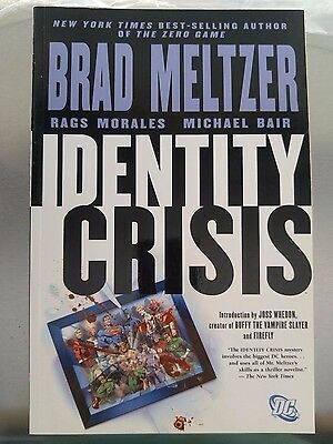 DC Comics Identity Crisis Trade Paperback TPB Brad Meltzer Excellent Condition