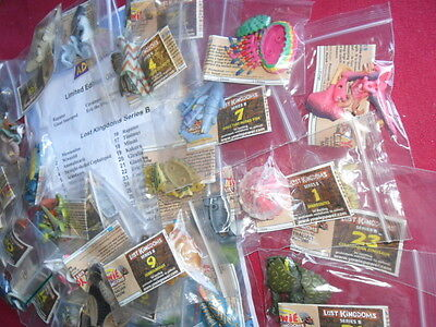 Yowie Yowies, Lost Kingdom B * Full Set 30 + Full Intact Papers ,quality Set