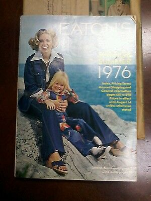 Vintage Eatons Spring and Summer Catalog in Original Sleeve