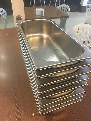 29 stainless steel pan trays