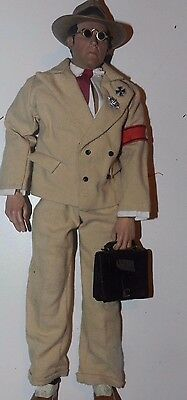 1/6Th Custom Did Ww2  German Gestapos Agent 1940 With  Leather Bag