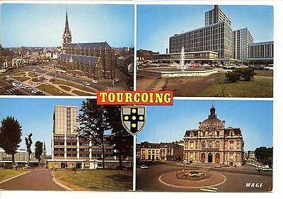 CP 59 NORD - Tourcoing - Multivues couleurs
