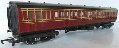HORNBY RAILWAYS R748 Caledonian Brake Coach in LMS livery
