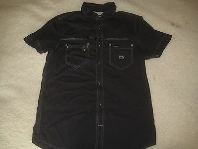 Diesel mens shirt, size M, black