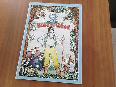 1987 Programme Babes In The Wood Mayflower Theatre Southampton