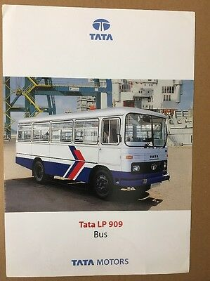 Bus Brochure - 2004 Tata LP 909 Bus - India