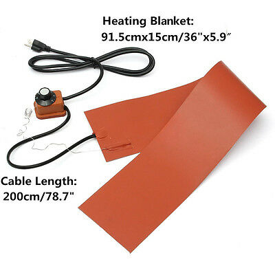 1200W 220V Silicone Rubber Heating Blanket for Guitar Side Bending W/ Controller
