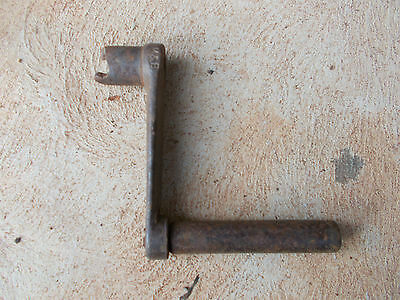 , vintage stationary engine , crank handle , old crank handle , collectable
