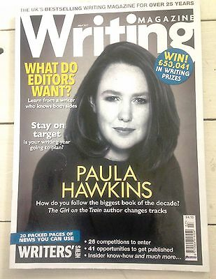 Writing Magazine July 2017 - including an interview with Paula Hawkins and more!