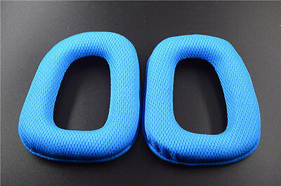 1 Pair Replacement Blue Ear Pad Ear Cushion For G35 G930 G430 F450 Headphone