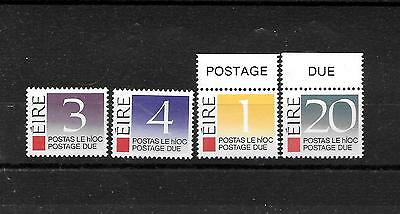 Ireland, MNH small lot Postage due stamps