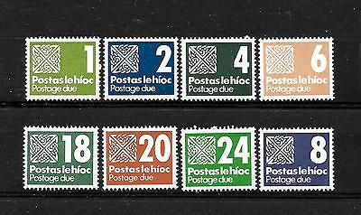 Ireland, MNH small collection of Postage Due stamps (8)