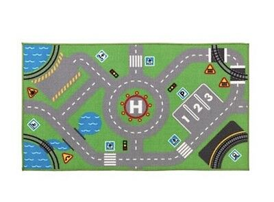 IKEA STORABO children's play rug kids mat for trains and car