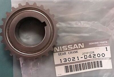 Genuine Oem Crankshaft Gear Sprocket Nissan 200Sx S13,silvia Ca18Det 13021-D4200
