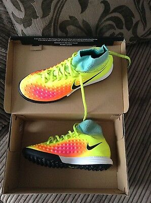 Nike astro turf sock boots size 4