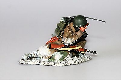 King And (&) Country Bba001 Operateur Radio Americain Ardennes Bastogne 1944