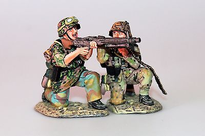 King And (&) Country Ws166 Groupe De Tir Panzer Grenadier Mitrailleuse Mg42 Ww2