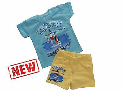 *NEW* Baby Boys* SUMMER *Outfit / Set of T-shirt & Shorts *HIGH QUALITY COTTON!