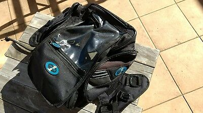 Motorcycle tank or tail bag; perfect condition; seldom used