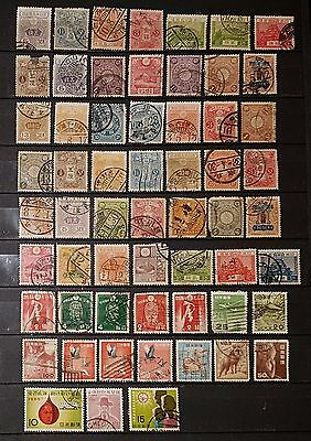 JAPAN Mixed Unchecked Used Stamps (No1129)