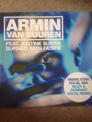Armin van Buuren feat Justine Suissa - Burned With Desire [Nebula]