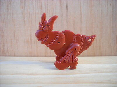 Vintage R&L Kellogg's Cereal Toy: Crazy Insects Brown CLARA BOW Figure
