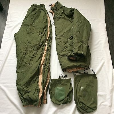 THERMAL JACKET & TROUSERS 'SOFTIE' REVERSIBLE - British Army -Small