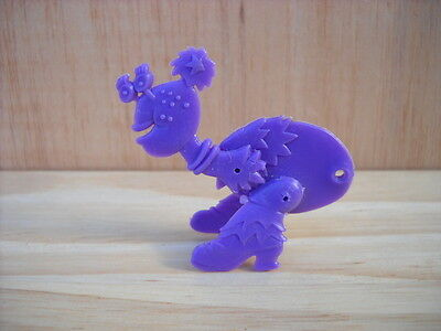 Vintage R&L Kellogg's Cereal Toy: Crazy Insects Dark Blue FRECKLES Figure