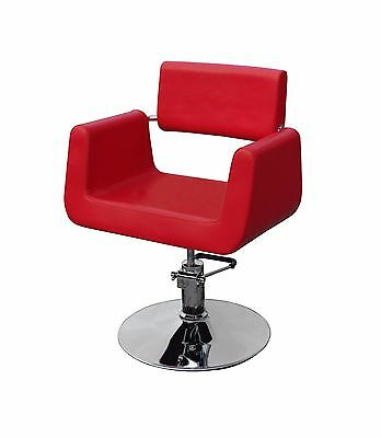 Red Styling Chair Hairdressing Salon Furniture Barber Spa Shop