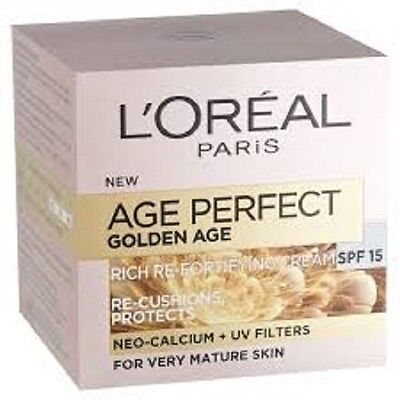 L'OREAL AGE PERFECT GOLDEN AGE SPF15 Rich Refortifying Day Cream 50ml
