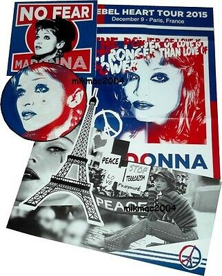 Madonna - No Fear Picture Disc Vinyl Lp + Poster + Fold Out Sleeve Limited New