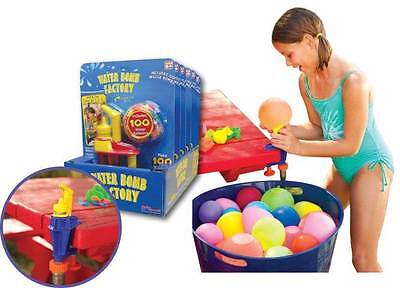 Swim Sportz Water Bomb Filling Factory Kit - Includes 100 Water Balloons